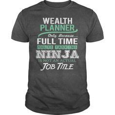 (Top Tshirt Seliing) Awesome Tee For Wealth Planner [Tshirt Facebook] Hoodies Tee Shirts