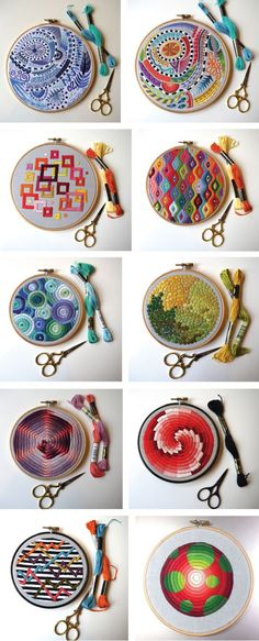 These incredible hand embroidery designs are the works UK-based artisan Corinne Sleight. She learned to stitch and knit as a child but has started embroidering professionally just a few years ago. …