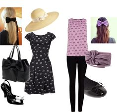"""Bow"" by ulstblog on Polyvore"