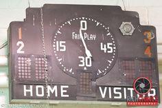 Old scoreboard