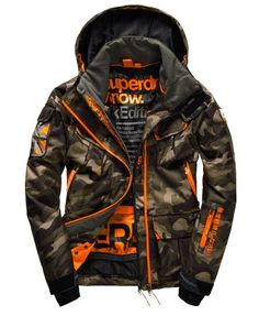 Men's skiwear, shop the latest technical range- Men's skiwear, shop the latest technical range Superdry Ultimate Snow Jacket - Superdry Jacket Men, Men's Coats And Jackets, Winter Jackets, Ski Jackets, Mode Punk, Mens Winter Coat, Tactical Clothing, Mens Clothing Styles, Men's Clothing