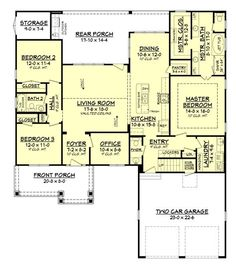 craftsman house plans open floor plan. Plan 8423JH  Handicapped Accessible Southern house plans and Pdf