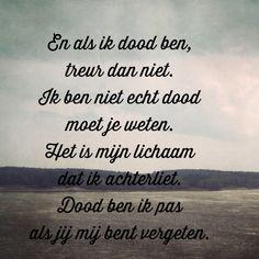 Citaten Over De Dood : De beste afbeelding van nederlandstalige uit lyrics