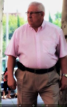 Big Daddy Bear, Muscle Belly, Chubby Men, Mature Men, Older Men, Vatican, Pink Grey, Mens Suits, Dads