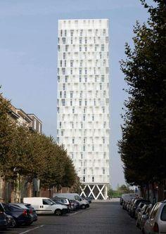BauNetz Architektur Meldung Vom Am Eilandje Wohnhochhaus In Antwerpen