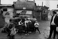 Henri Cartier-Bresson     Portuguese shantytown, Massy, Ile-de-France.1969