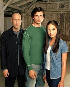 Michael Rosenbaum as Lex Luthor, Tom Welling as Clark Kent and Kristin Kreuk as Lana Lang on Smallville photo - Smallville picture #20 of 89