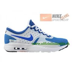 low priced 5bd4f a495f Nike Air Max Zero - Chaussure Mixte Nike Sportswear Pas Cher (Taille Homme)  Blanc