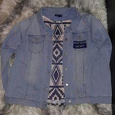 Bandolino knit Jean jacket Light wash Women's knit Jean jacket. Material 97% cotton & 3% spandex. Super comfy, stretchy & stylish! NWT Bandolino Jackets & Coats Jean Jackets