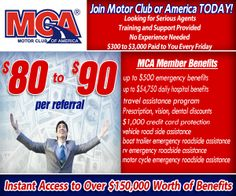 #workfromhome with MOTOR CLUB OF AMERICA. A Trusted Name Since