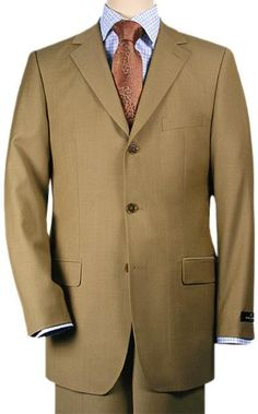 black lapel suit Three-button front with notch lapel Flap pockets with single chest pocket Four buttons at cuffs.