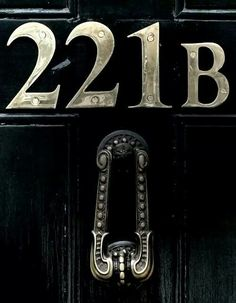 221b Baker Street. Home of my favourite detective, man or mouse ;)