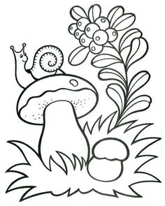 Клуб рукодельниц - рукоделие с душой Art Drawings For Kids, Drawing For Kids, Easy Drawings, Art For Kids, Creation Preschool Craft, Preschool Crafts, Fall Arts And Crafts, Autumn Crafts, Printable Flower Coloring Pages