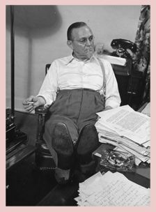 He wrote short stories celebrating the Broadway that grew out of the prohibition era. 'Runyonesque' He died of throat cancer & Eddie Rickenbacker spread his ashes by plane over Broadway. Eddie Rickenbacker, Playwright, Screenwriting, Damon, The Conjuring, Classical Music, Top Ten, Short Stories