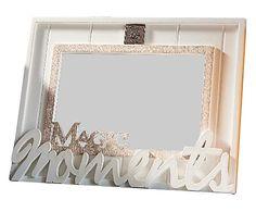 Fotolijst Magic Moment, wit/naturel, 16,5 x 21 cm