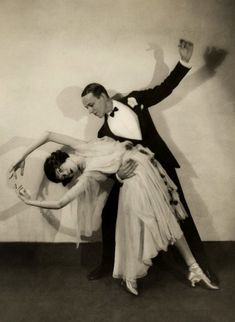 colettesaintyves:    Fred Astaire and  Adele.Edward Steichen for Vanity Fair July 1925.