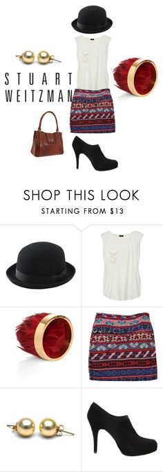 """Stuart Weitzman"" by babe7390 ❤ liked on Polyvore featuring Uniqlo, SuperTrash, BOSS Black and Stuart Weitzman"