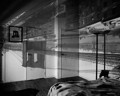 Abelardo Morell - Camera Obscura, Image of the Brooklyn Bridge in bedroom, 1999 Gelatin silver print x cm) Camera Obscura, Vivian Maier, Artistic Photography, Art Photography, Museum Art Gallery, Pinhole Camera, Gelatin Silver Print, Brooklyn Bridge, Contemporary Artists