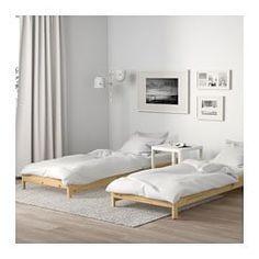 Neiden Bed Frame Pine Birch Luroy Twin Ikea Ikea Twin Bed Murphy Bed Ikea Twin Bed Frame