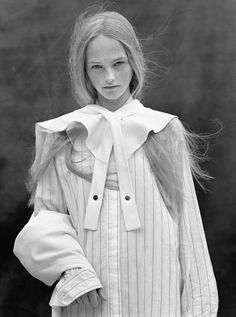 Jean Campbell photographed by Bruce Weber & styled by Joe McKenna for Vogue UK, October 2013.