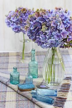 FLOWERS by ingrid and titti-Vases, Bottles and Containers-Ingrid Henningsson-Of Spring and Summer