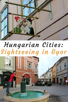 Located halfway between Budapest and Vienna Győr has the most beautiful Baroque city center in Hungary. Let's take a stroll, shall we? Places To Travel, Places To Visit, Hungary Travel, Photo Essay, Eastern Europe, Budapest, Travel Guides, Adventure Time, Touring