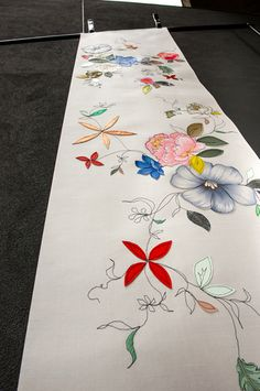 Claire Coles Spring Bloom Wallpaper