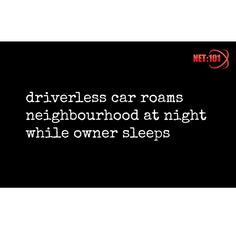 #parody #satire #humour #driverless #technology #net101 #socialmedia