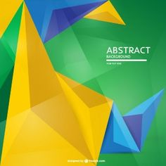 Geometric backgrounds, inspired by the low-poly look, is a popular trend nowadays. Here are over 100 vector geometric backgrounds you can use free. Flag Background, Geometric Background, Vector Background, Sports Painting, Brazil Flag, Business Planning, Vector Free, Diagram, Graphic Design
