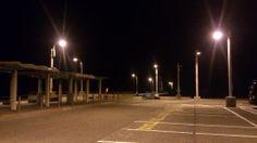 本日の定期船は三池港に入港。 気温10度。今朝も晴れて星がすごい。 着くの早すぎたらしい。