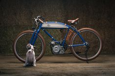 Puppy Love: A Ducati Cucciolo from Analog Motorcycles   Bike EXIF Ducati Motorcycles, Vintage Motorcycles, Course Moto, Motorised Bike, Vintage Festival, Motorcycle Engine, Mens Gear, Little Puppies, Motorbikes