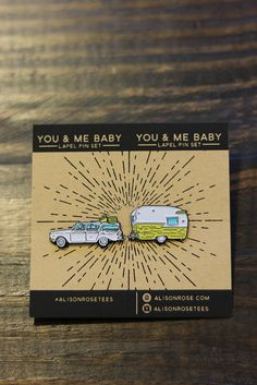 Nobody Baby But You & Me Pins- Enamel Pin set by AlisonRose on Etsy https://www.etsy.com/listing/287152225/nobody-baby-but-you-me-pins-enamel-pin