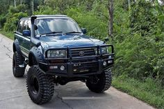toyota land cruiser 100 off road - Google Search