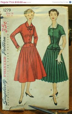Black Friday 50% Off Sale Simplicity 1279 by EleanorMeriwether