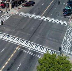 Piano en la calle