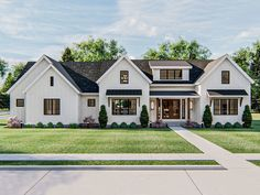 050H-0326: Craftsman Ranch House Plan; 2296 sf