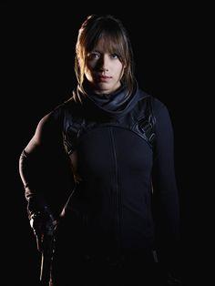 Chloe Bennet as Agent Skye in Marvel's #AgentsOfSHIELD - Season 2