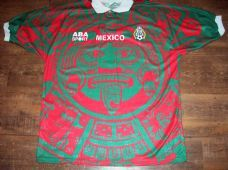 1997 1998 Mexico Home Football Shirt Adults Large