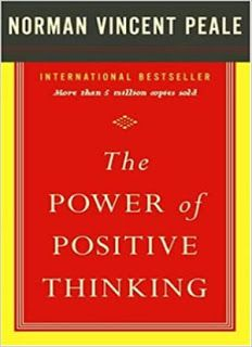 The Power of Positive Thinking is one of the best self help books in the world by Norman Vincent Peale. Today we will share its link here. Reading Lists, Book Lists, Good Books, My Books, Amazing Books, Free Books, Norman Vincent Peale, Life Changing Books, Motivational Books