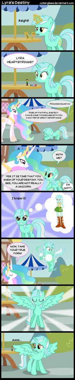 Awww poor Lyra