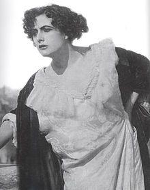 """Francesca Bertini starring in""""Assunta Spina"""", 1915"""