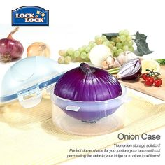 Where else can you get an airtight onion case?