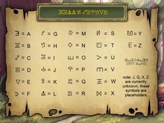 Gravity Falls: Break the Code! Finally, I found this.