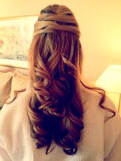 kara's bridesmaid hair