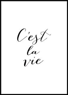 Poster with French text, quote in black and white.- Plakat mit französischem Text, quote in Schwarz-Weiß. Poster with French text, quote in black and white. Text Quotes, Words Quotes, Life Quotes, Sayings, Black Poster, Black & White Quotes, Black And White Posters, Black And White Prints, Framed Quotes