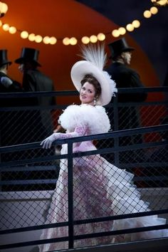 "Anna Netrebko as ""Manon,"" (1884) an opera by Jules Massenet."