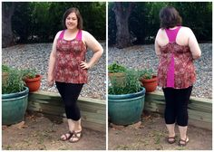 Curvy Sewing Collective - Tank with shelf bra using Jalie pattern 2563