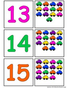 Transportation Self-Correcting Quantity Puzzles 's Color Worksheets For Preschool, Numbers Preschool, Kindergarten Math Worksheets, Preschool Learning Activities, Math Numbers, Preschool Lessons, Preschool Activities, Sudoku, Mazes For Kids