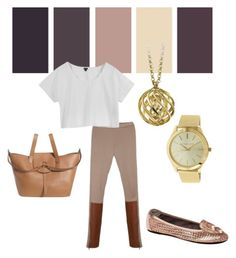 """""""Brown Hues"""" by thenandnowshop on Polyvore"""