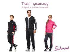 Der wohl bekannteste #Trainingsanzug! Den Zweiteiler von adidas gibt's für die ganze Familie.
